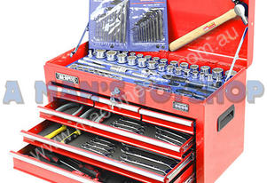 TOOLKIT KC 153PCE 3 DRAWER CHEST