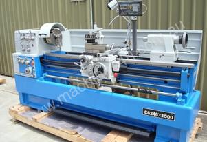 TOPTEC Precision Lathe C6246x1500 (460mm Swing + 8