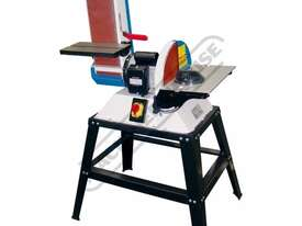 L-612A Belt & Disc Linisher Sander 150 x 1220mm (W x L) Belt Ø305mm Disc - picture0' - Click to enlarge