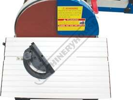 L-612A Belt & Disc Linisher Sander 150 x 1220mm (W x L) Belt Ø305mm Disc - picture12' - Click to enlarge