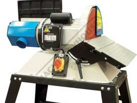 L-612A Belt & Disc Linisher Sander 150 x 1220mm (W x L) Belt Ø305mm Disc - picture13' - Click to enlarge