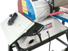 L-612A Belt & Disc Linisher Sander 150 x 1220mm (W x L) Belt Ø305mm Disc - picture14' - Click to enlarge