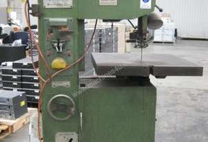 Working good Nagase band saw NC 400 with blade weld