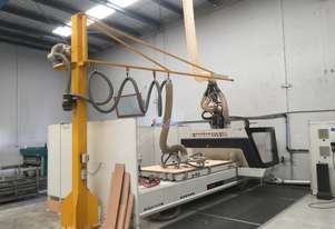 Nesting machine with Dust collector and Lifter