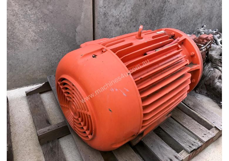Used pope 75 kw 100 hp 2 pole 415 v Pope AC Electric Motor