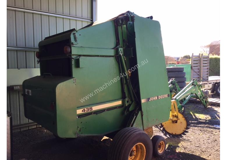Used John Deere 435 ROUND BALER Round Baler in , - Listed on