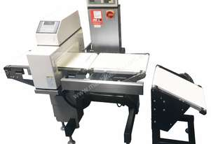 Combo Checkweigher/Metal Detector with Drop Reject