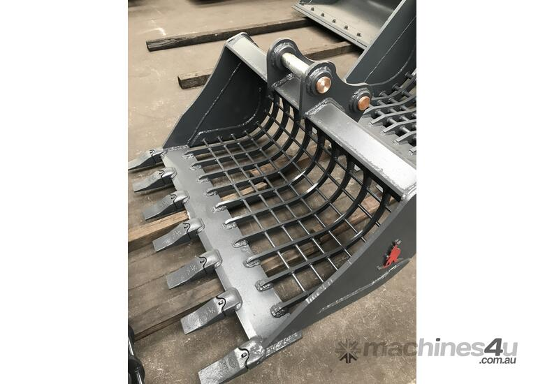 Roo Attachments Brand New 2 - 3 Tonne Sieve / Shaker / Skeleton Bucket