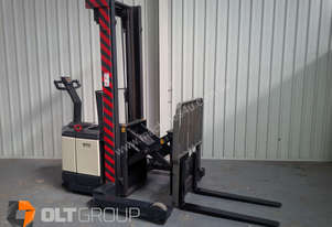 Crown Walkie Reach Truck 1.5 Tonne, 3.8m Lift Height, Reach/Tilt, 240v Charger Included.
