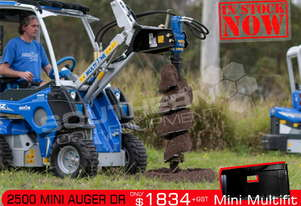 ML 2500 Auger Drive Unit. Suit Vermeer Avant Mini Loaders ATTAGT