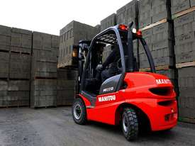 NEW 2.5T MANITOU DIESEL, 2-STAGE 4000MM MAST FROM $17.50 + GST PER DAY - picture2' - Click to enlarge