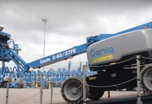 THE NEW Z™-60/37FE ARTICULATING BOOM LIFT