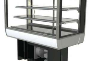 FPG 3CA12-SQ-CT-FF-I Controlled Ambient Counter Top Display w/Fixed Front Glass & Integral Condensin