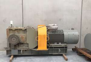 160 kw Geared Motor 110 rpm Output Speed