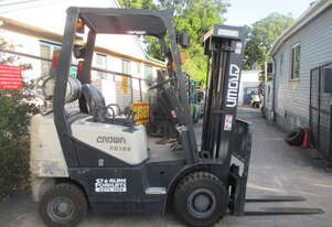 Crown 1.8 ton Container Mast Used Forklift