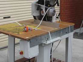 MAGGI JUNIOR 640 RADIAL ARM SAW - picture0' - Click to enlarge