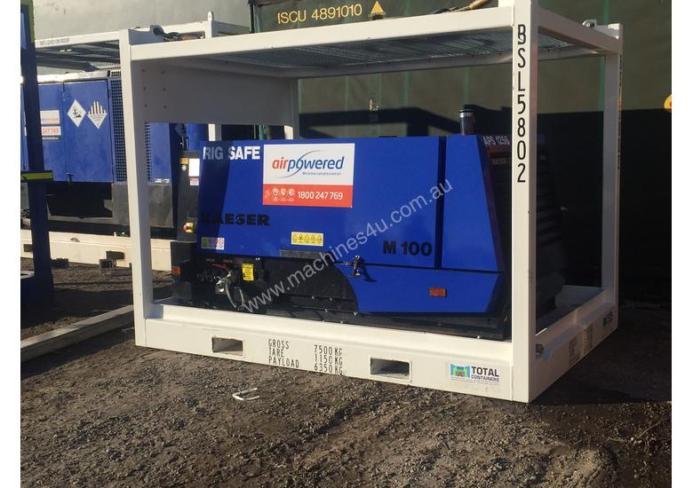 400cfm Rig Safe Diesel Air Compressor