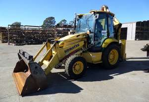 2010 Komatsu WB97R-5EO 4WD Backhoe *CONDITIONS APPLY*