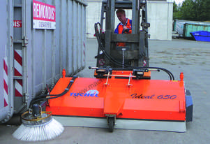 Ideal Bucket Broom Road Sweeper for Forklifts and Excavators