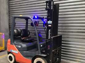 Toyota 32-8FG18 LPG / Petrol Counterbalance Forklift - picture1' - Click to enlarge