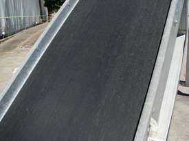 Large Incline Motorised Belt Conveyor - 3.4m High - picture2' - Click to enlarge