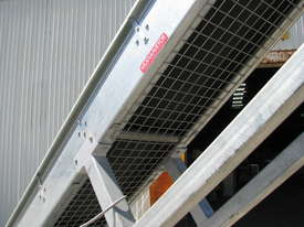 Large Incline Motorised Belt Conveyor - 3.4m High - picture4' - Click to enlarge