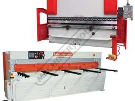 HG-1060B & PB-70B Hydraulic NC Guillotine & NC Pressbrake Package Deal Guillotine - 3100 x 6mm, Pres - picture0' - Click to enlarge