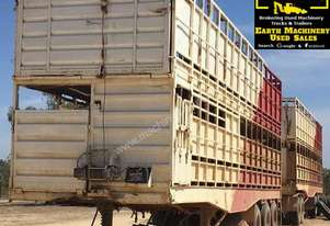Double Deck Cattle Crates x 3, price drop, EMUS NQ