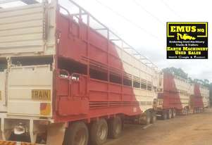 Haulmark Double Deck Cattle Crates x 3, EMUS TS309