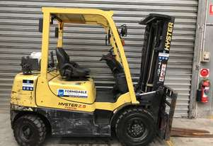 Hyster H2.5TX LPG / Petrol Counterbalance Forklift