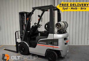 Nissan P1F1A18DU 1.8 Tonne Used Forklift Sydney Container Mast Sideshift