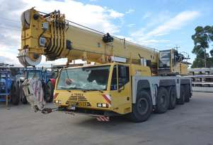 2008 Terex Demag AC160-2 5 Axle Mobile 160T Slewing Crane with Foldaway Fly Jib w/ 10 Year Cert