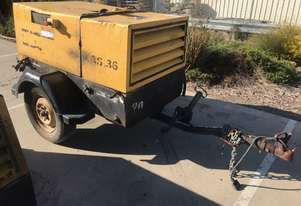 Atlas Copco, XAS 36, Air Compressor