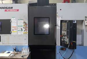 2014 Doosan VC630-5AX 5 Axis Vertical Machining Centre