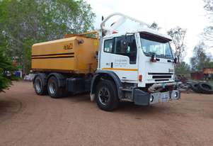 Water truck for road construction
