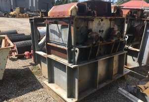 Knittle Hammer Mill Crusher 610mm x 610mm twin rotor
