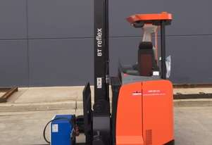 BT RRE160 REACH TRUCK # 6181468 9500MM  $15,900(PLUS GST)