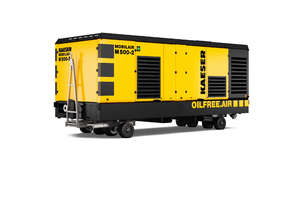 NEW - KAESER M500-2, 1500CFM OIL FREE DIESEL AIR COMPRESSOR