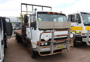 Mitsubishi 1992 FK 417 Tray Top Cab Chassis Truck