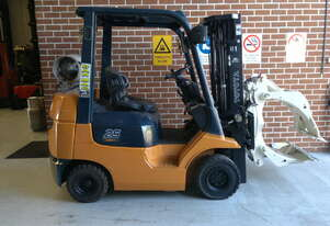 2.5 Tonne Toyota 42-7FGK25 Container Mast Forklift