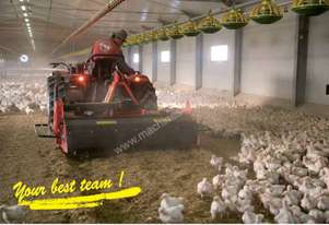 Litter rejuvenator for Chickens/Turkeys
