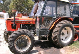 zetor 4 wheel drive  , 4 available as package