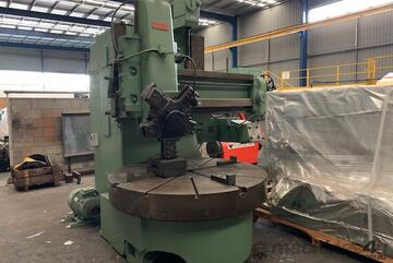 Webster and Bennett Vertical Boring and turning Machine