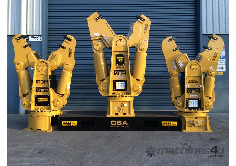 OSA MC SERIES, CRUSHER/PULVERISER/SHEAR