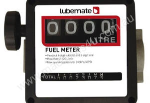 LUBEMATE Fuel Meter - 4 Digit Readout