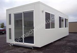 Custom Built Portable Building with Extra Options