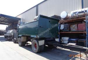 HMADE TWO AXLE DOG TRAILER FOR SALE