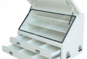 TOOLBOX TRUCK BOX 2 DRAWER 1210MM WIDE