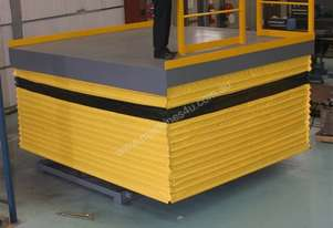 Safetech scissor lift - goods hoist