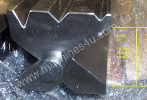 MULTI-VEE DIE BLOCK FOR PRESS BRAKE 100SQ X 3100L